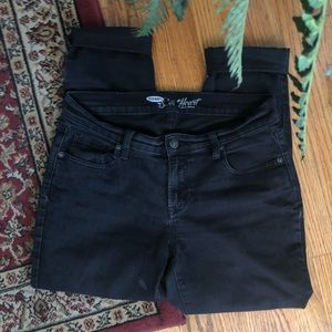 Old Navy Black Sweetheart Jeans